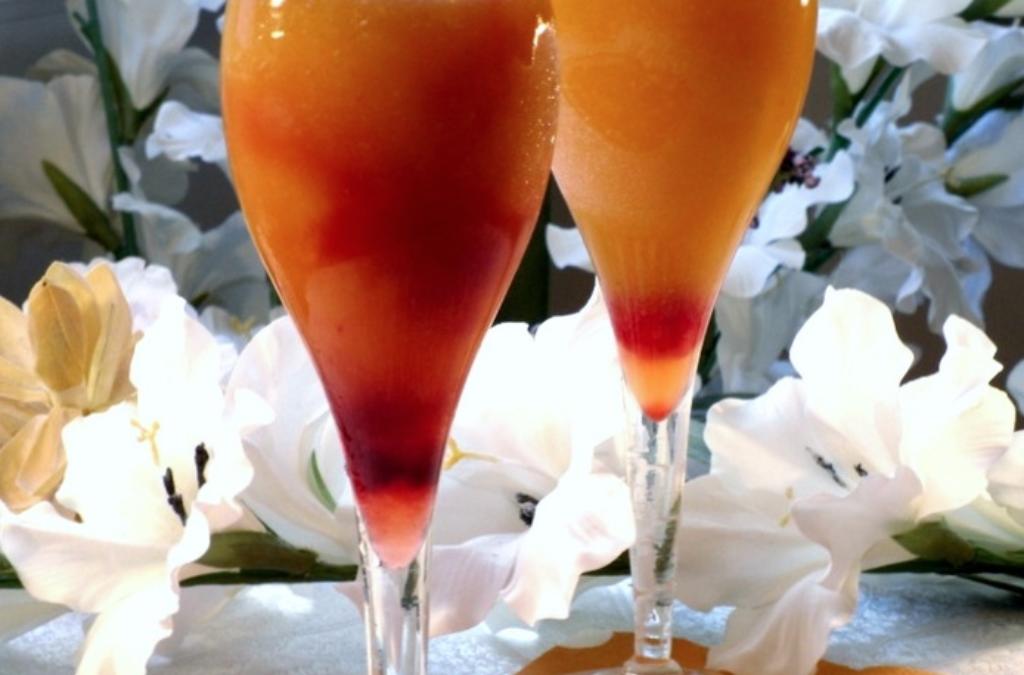 Riesling Peach And Cherry Slush